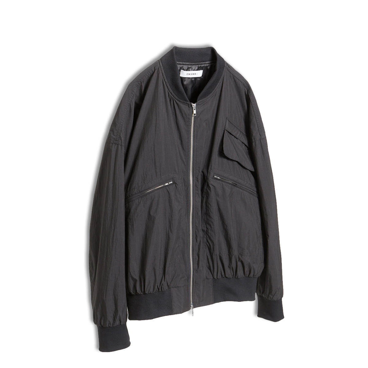 [ENIGMA] BOMBER JACKET 'BLACK'