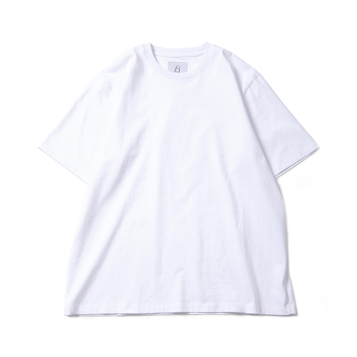 [BROWNYARD] ESSENTIAL T-SHIRT 'WHITE'