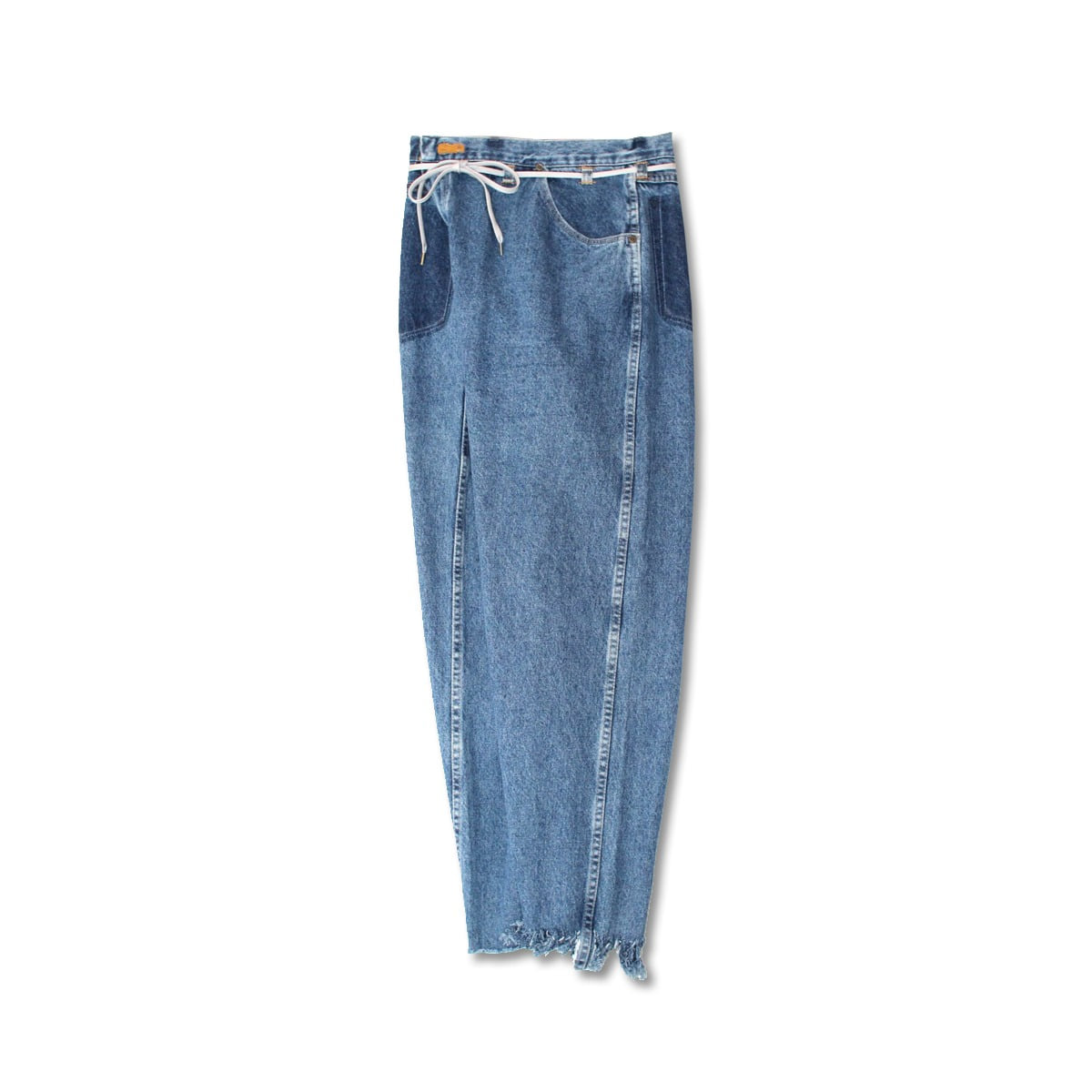 [MAISON EUREKA] VINTAGE REWORK BIGGY PANTS 'BLUE'