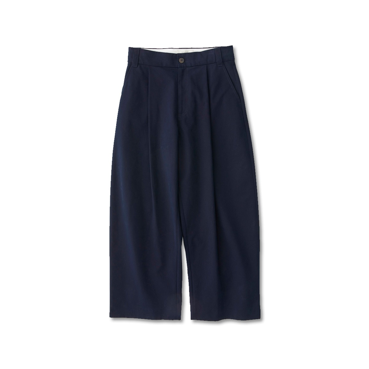 [STUDIO NICHOLSON] VOLUME PLEAT PANTS 'DARK NAVY'
